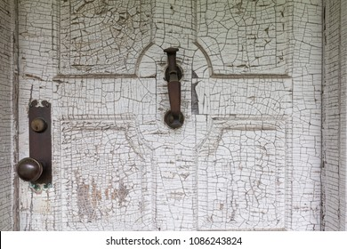 Old Abandoned Home Entry Door
