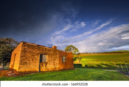 An old abandoned house in the Clare Valley, South Australia