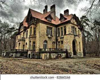 Old abandoned residence
