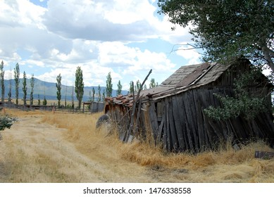 An old abandoned shed in rural southern Utah.  Americana and southwestern landscape photography.