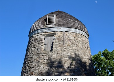 Old Abandoned Windmill (Gristmill)