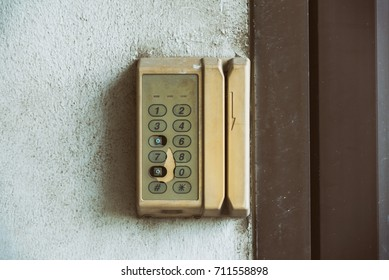 Old Access Control System of electronic key