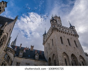 The old and acient Marienburg Castle, Germany