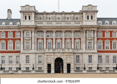 The Old Admiralty Building houses a part of the Foreign and Commonwealth Office of the United Kingdom. London, UK