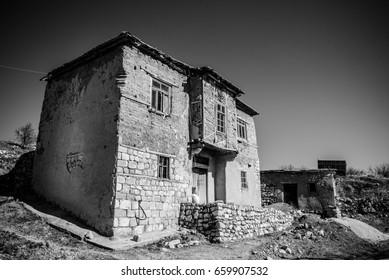 Old adobe building