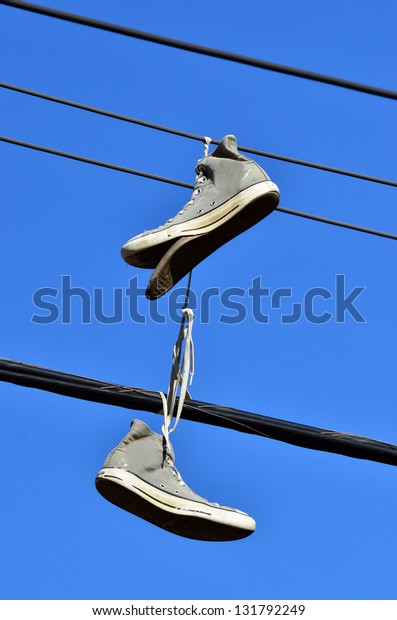 Old Torn Vintage Converse All Star Shoe Stock Photo Download Image Now