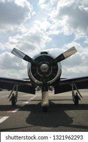 Old american warbird