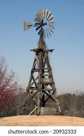 Old American Windmill