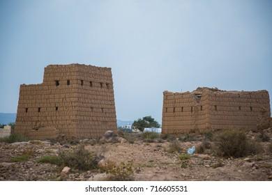 Old ancient house from al habala abha saudi arabia