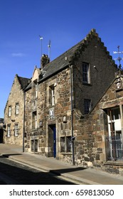 Old ancient houses in Stirling, Scotland, United Kingdom