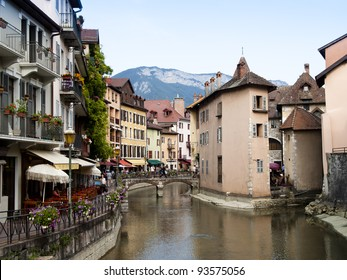 Old Annecy, France, city general view