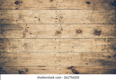 old ans dirty wood plank wall with scratches for decoration and background