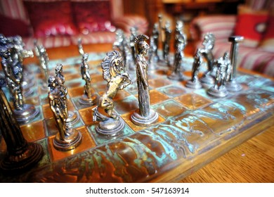 old antique chess