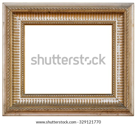 Old Antique Dirty Picture Frame Painting Stock Photo (Edit Now ...
