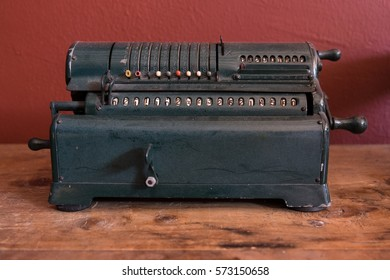 Old antique typewriter