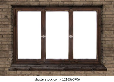 Royalty Free Wood Window Frame Stock Images Photos