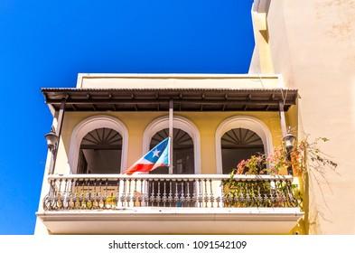 Old Apartment Building in San Juan