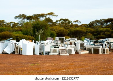 Old Appliances Junkyard