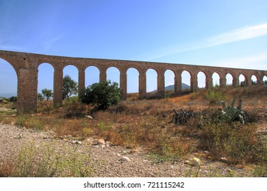 Old aqueduct in the Natural Park of Cabo de Gata