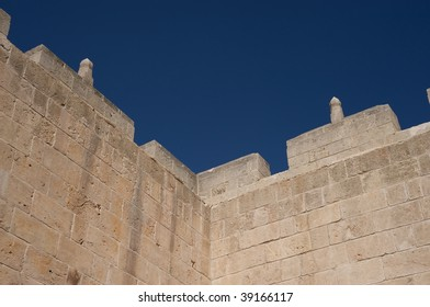 Old arabic walls