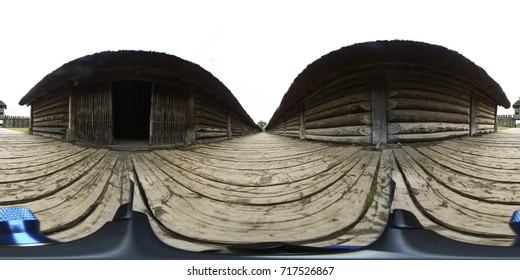 Old Archaeological site - Biskupin, Poland - 360 Virtual Reality 360VR photo