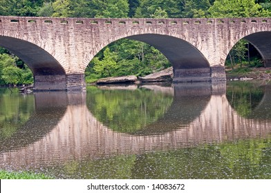 An old arched bridge