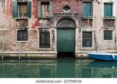 Old Architecture Facade and Canal