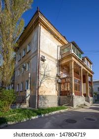 old architecture of Sevastopol. Crimea. Ukraine.