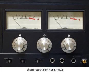 Old audio equipment