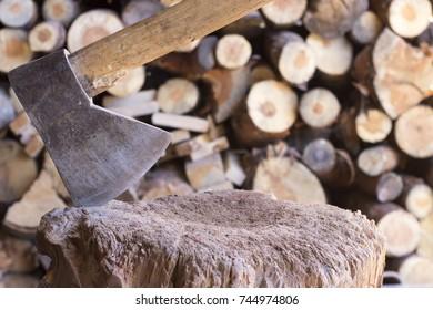 Old ax