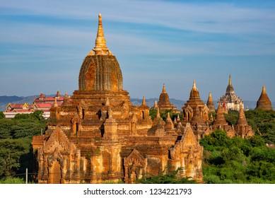 Old Bagan, land of thousands Pagodas, Myanmar