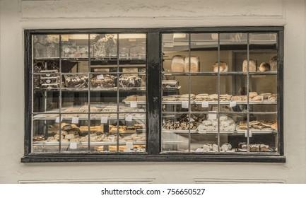 Old bakery window