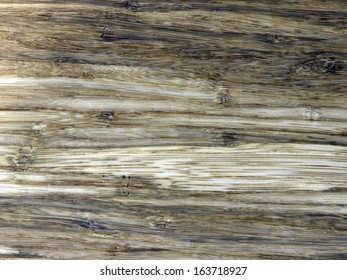 Old bamboo texture, horizontal stripes wooden floor