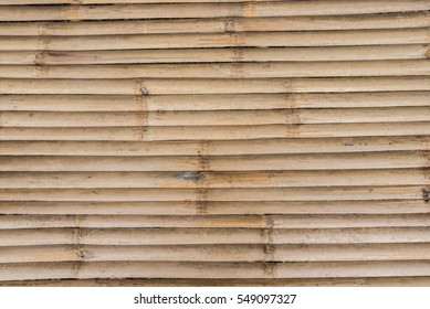 The old bamboo wood texture and background.