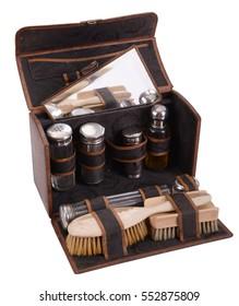 Old barber kit