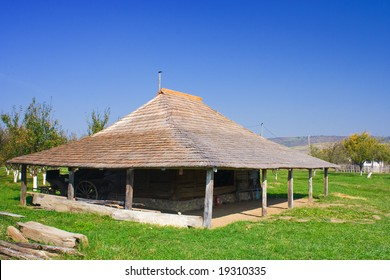 An old barn in the countryside