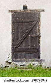 Old barn door