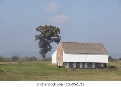 Old Barn in Gettysburg National Battlefield