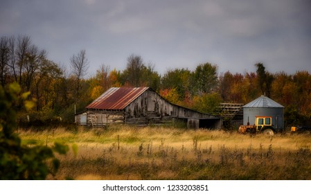 An Old Barn in Late Autumn,  Eastern Ontario