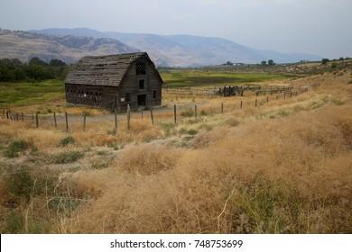 Old Barn on a Farm
