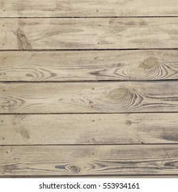 Old Barn Wood Square Background. Grey Wooden Frame Texture. Rustic Barnwood Isolated White Interior Or Exterior Rectangle Signboard Or Billboard. Shabby Chic Paint Light Beige Wood Weathered Paneling