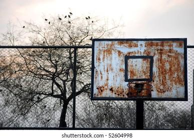 Old Basketball ring