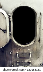 Old Battleship Open door