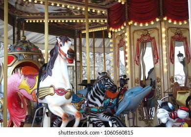 Old beautiful carousel