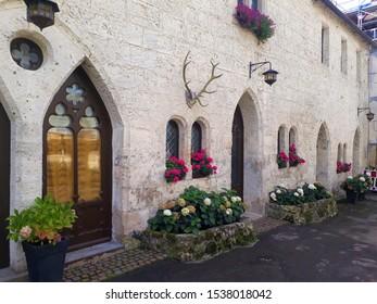 Old beautiful castle in Lichtenstein