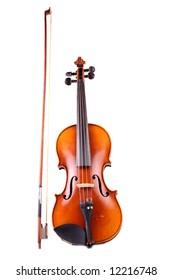 old beautiful violin