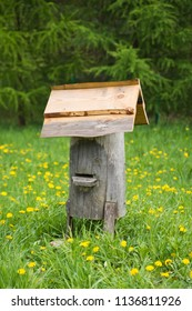 Old bee hive - rural scenery