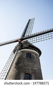 old belgian windmill
