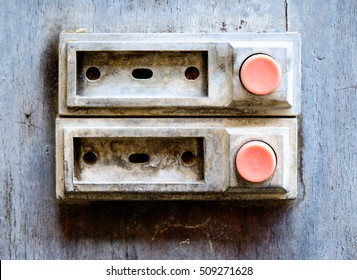 old bell button - closeup - photo & Door Buzzer Images Stock Photos \u0026 Vectors | Shutterstock