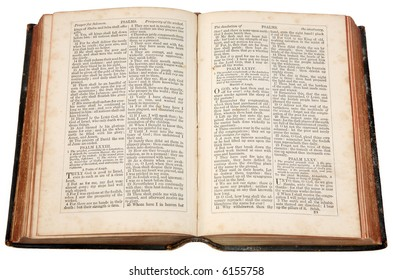 An old bible published in 1868.